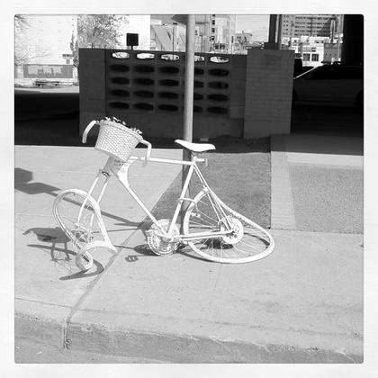 Another Ghost Bike Appears