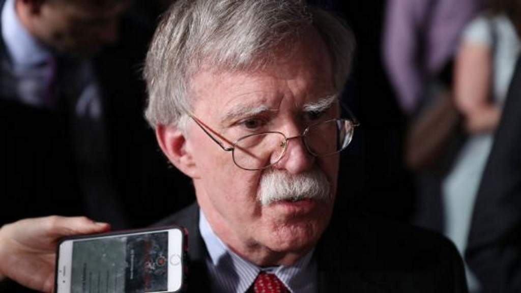 Trump tells Iran 'call me,' playing good cop to Bolton's enforcer
