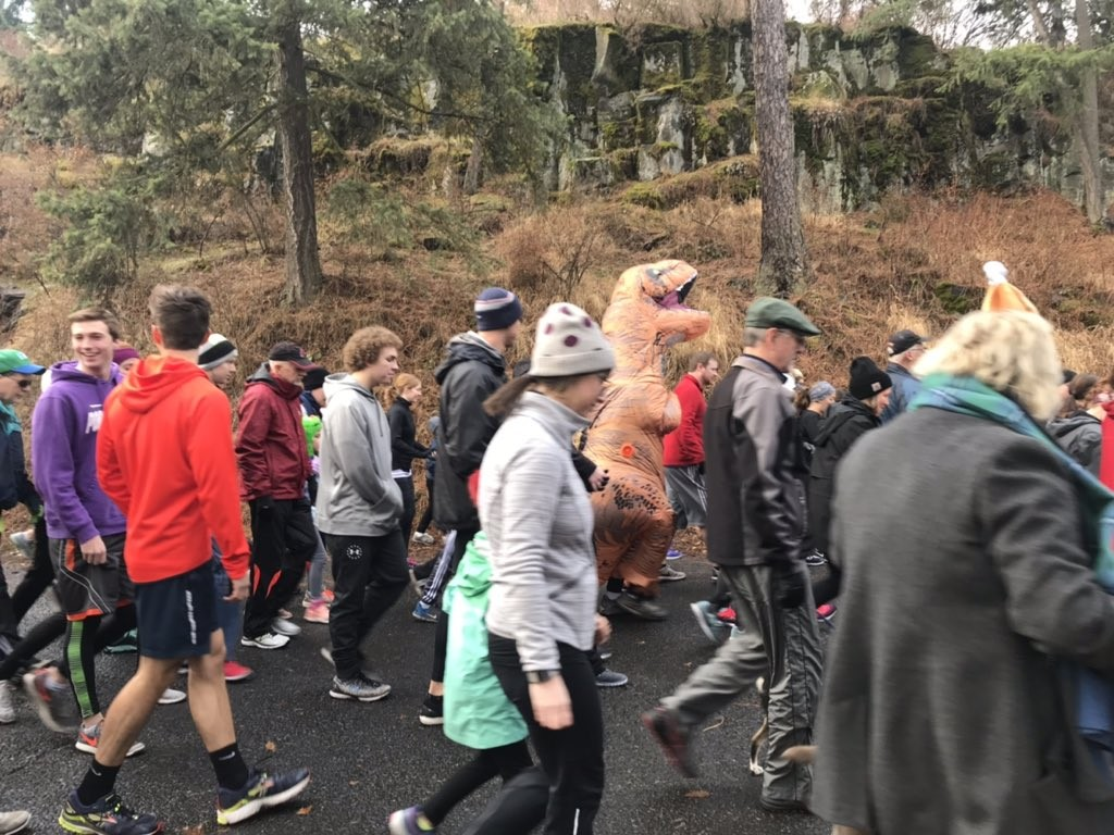 GALLERY: Runners fill Manito Park for annual Turkey Trot