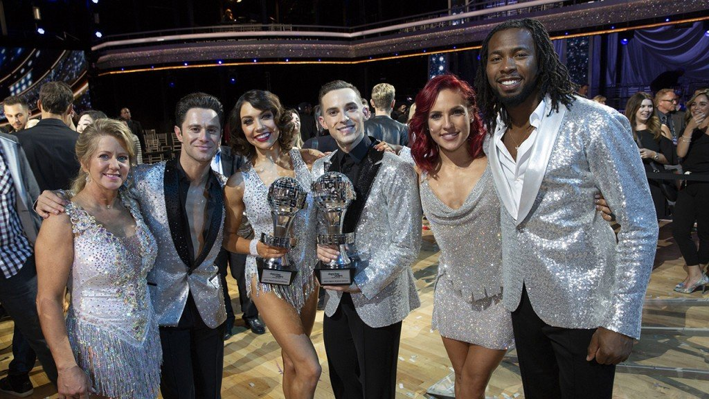 'Dancing with The Stars: Athletes' crowns winner