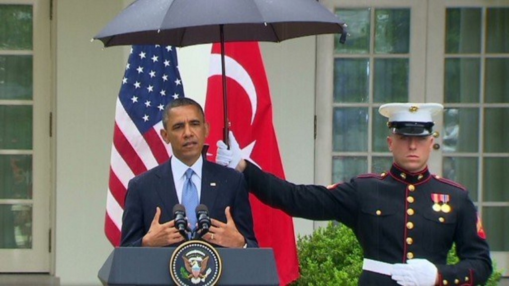 All Marines now allowed to use umbrellas