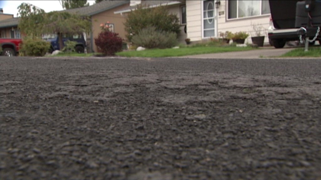 City paving project has homeowners frustrated