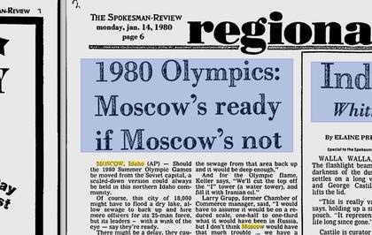 Remember When Moscow, Idaho, Wanted the Olympics?