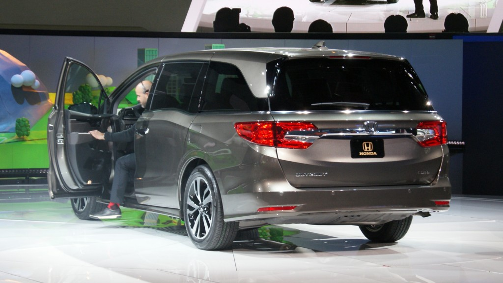 All-new Honda Odyssey coming for 2018