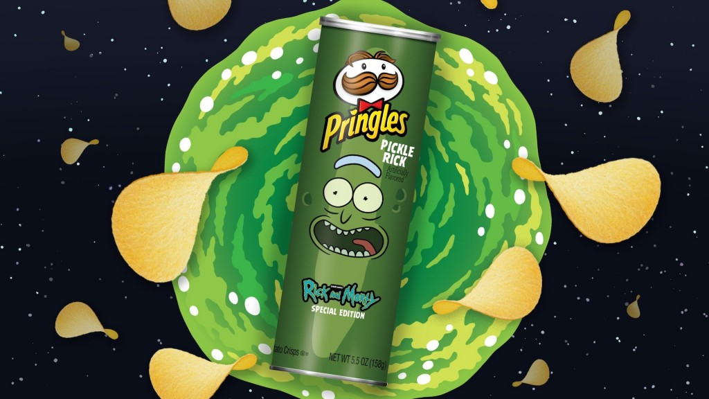 'Pickle Rick' Pringles coming to stores
