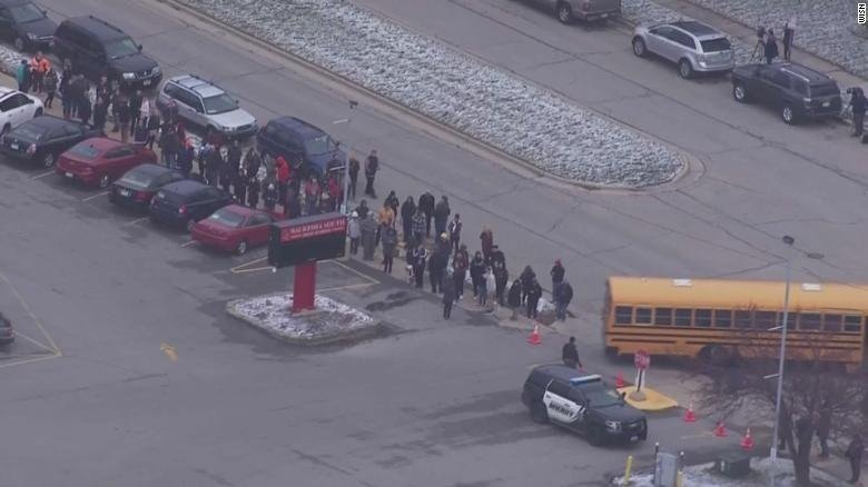 Officer shoots armed Wisconsin student in classroom