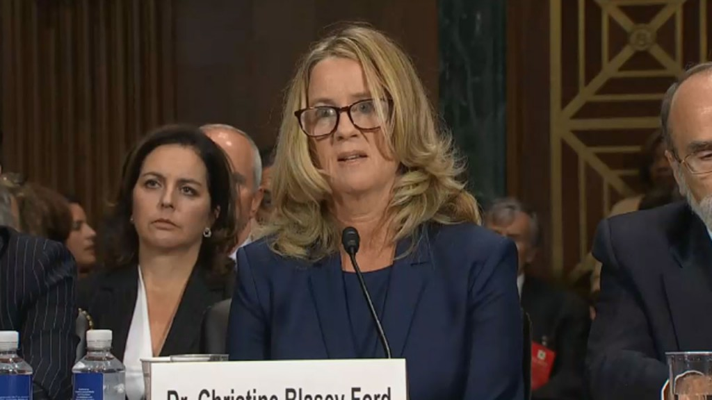 Christine Blasey Ford's friend is not refuting Ford's allegation, will cooperate with FBI, lawyer