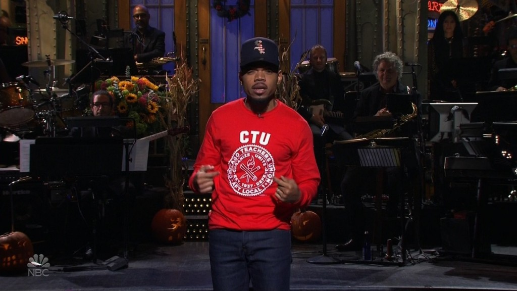 Chance the Rapper advocates for Chicago teachers