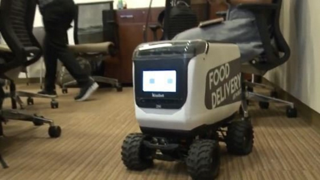Food-delivery robots being tested