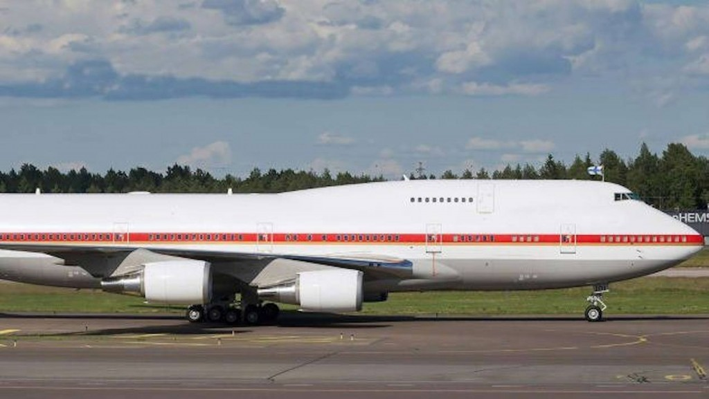 Japanese Air Force One for sale at $28 million