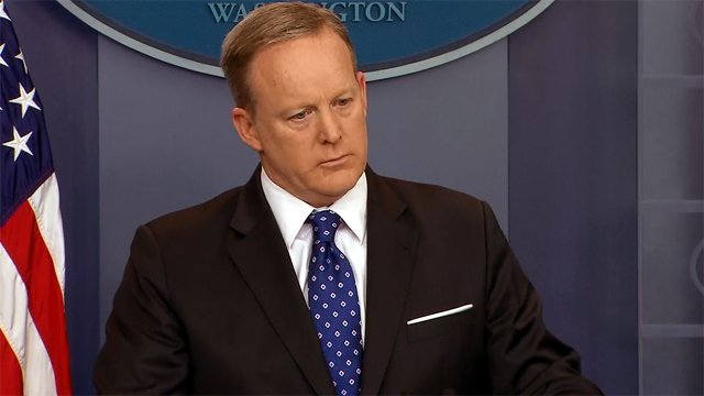 Sean Spicer might be leaving White House podium