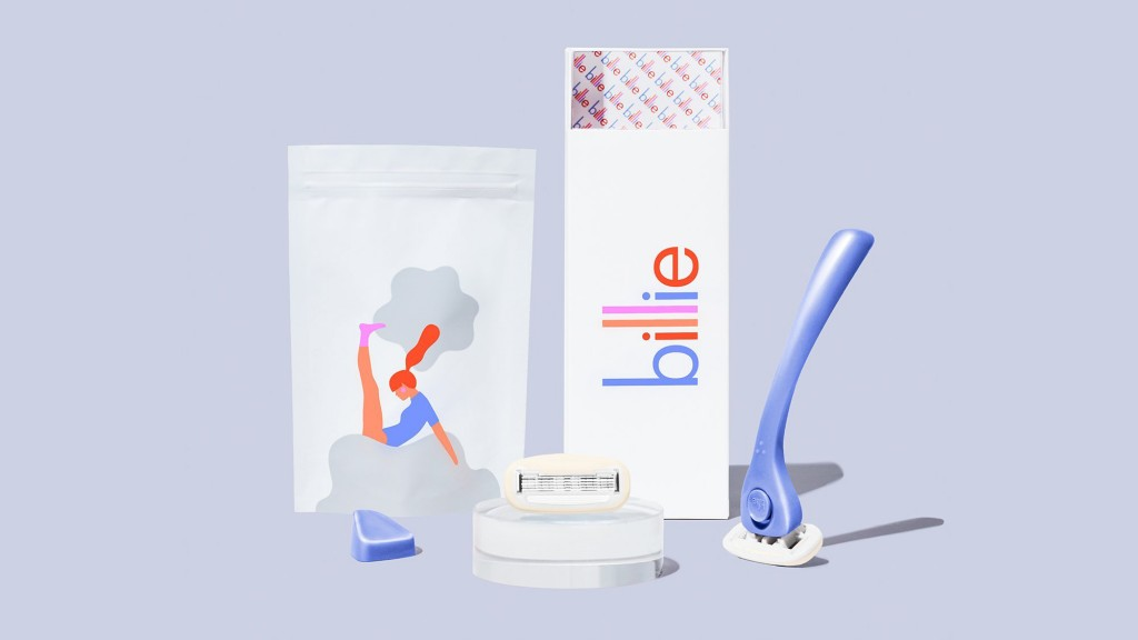 Women's razor startup Billie takes on 'pink tax'