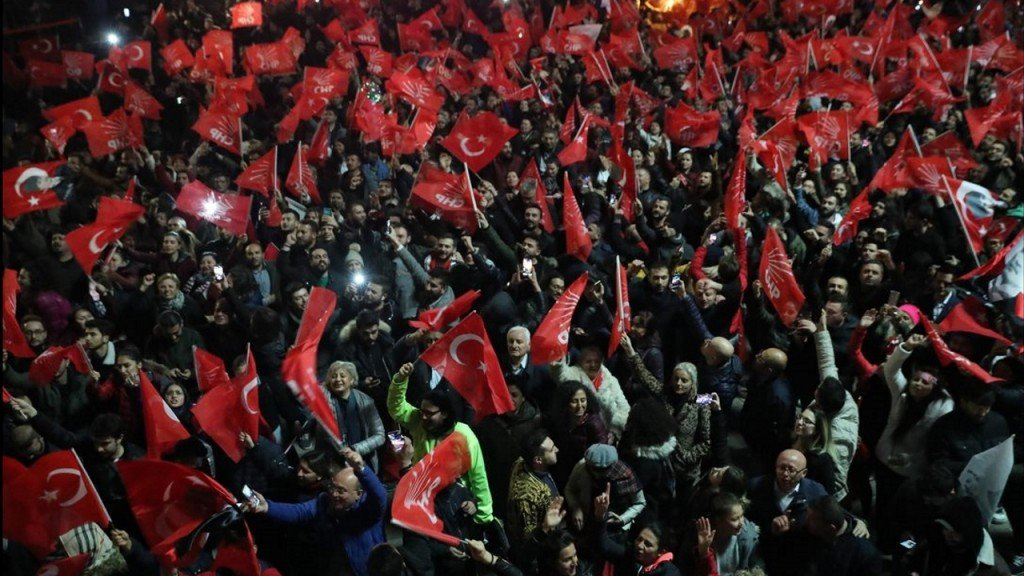 Erdogan's party contests election results in Istanbul, Ankara
