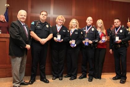 Post Falls Police Honored
