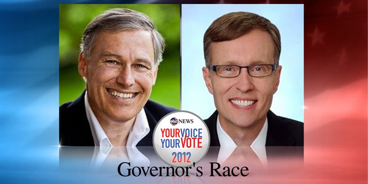 Wash. voters to decide on governor, other races