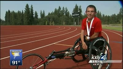 Local teen sets his sights on Paralympics