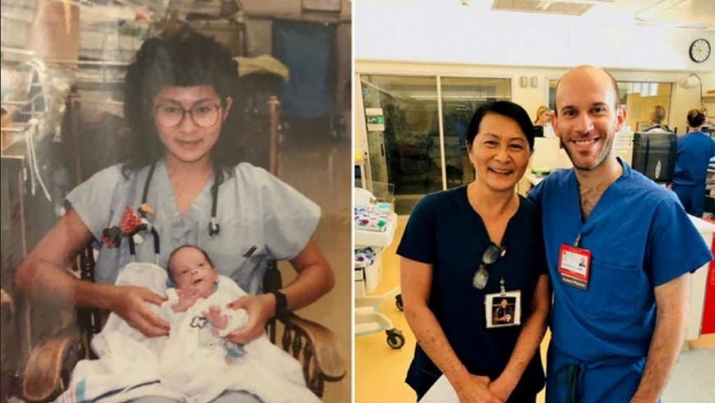 Nurse discovers colleague was a preemie patient of hers