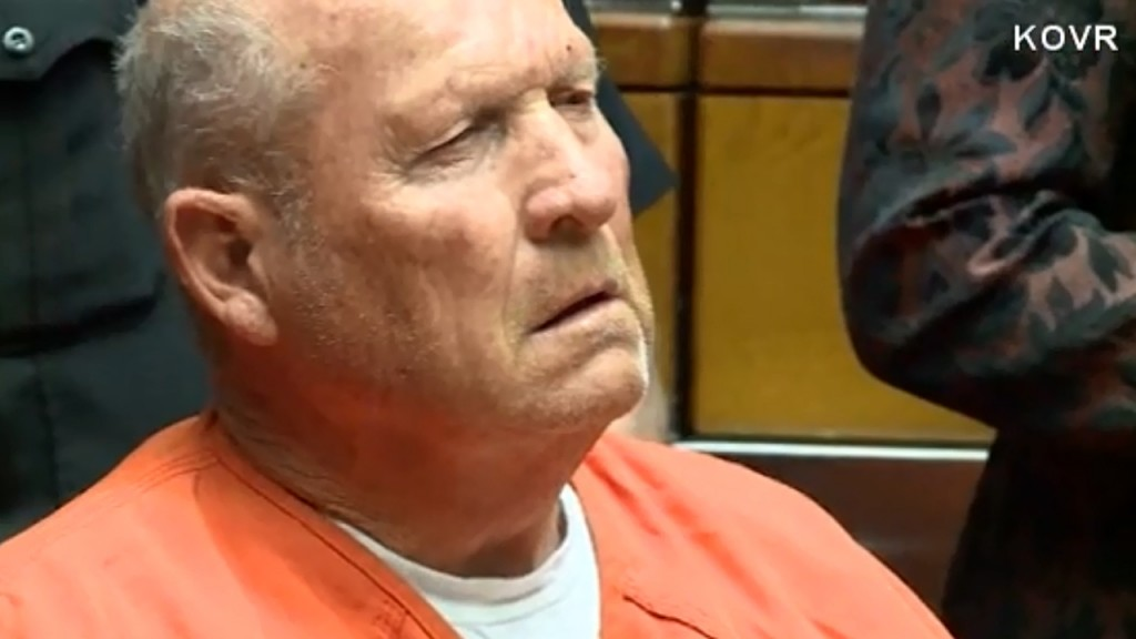 Golden State Killer suspect to be tried in one trial in Sacramento