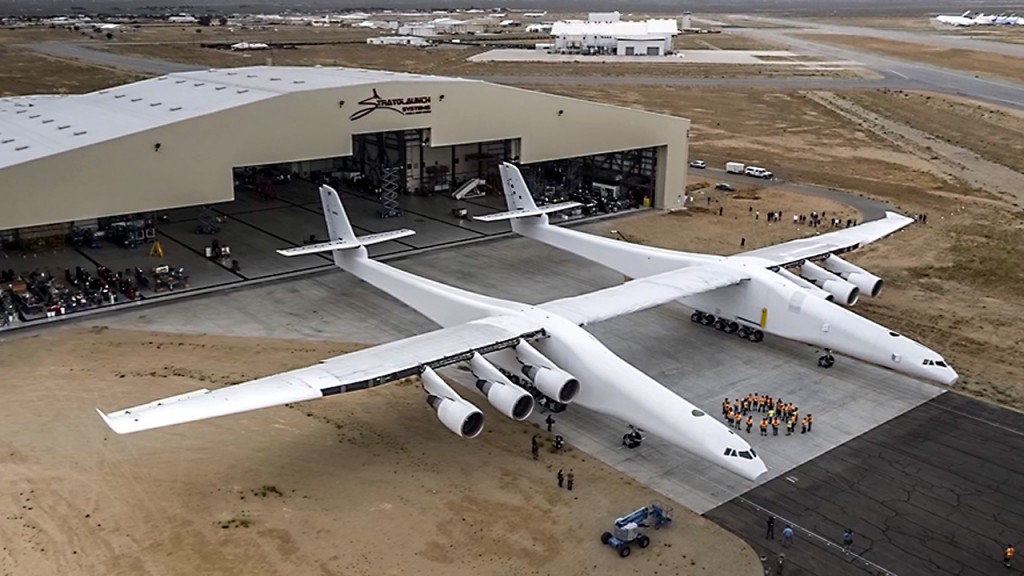 World's largest airplane is rolled out