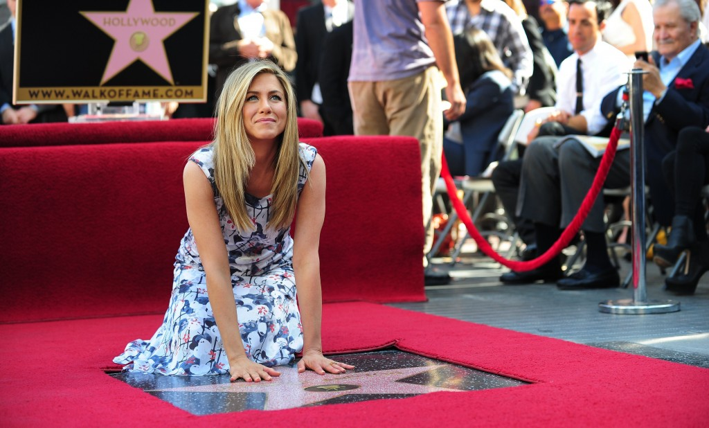Jennifer Aniston says she used to live with a ghost