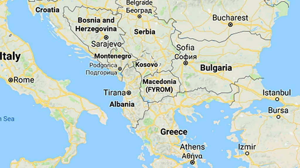 Macedonia officially changes name to North Macedonia