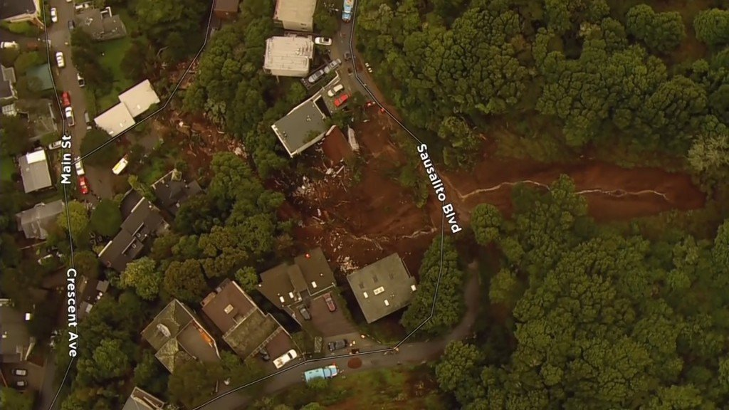 Woman was in her home as a mudslide took it down a hill