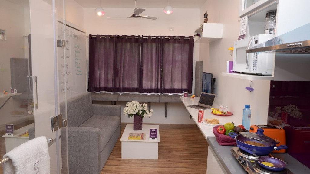 This Indian company can build an apartment in two weeks