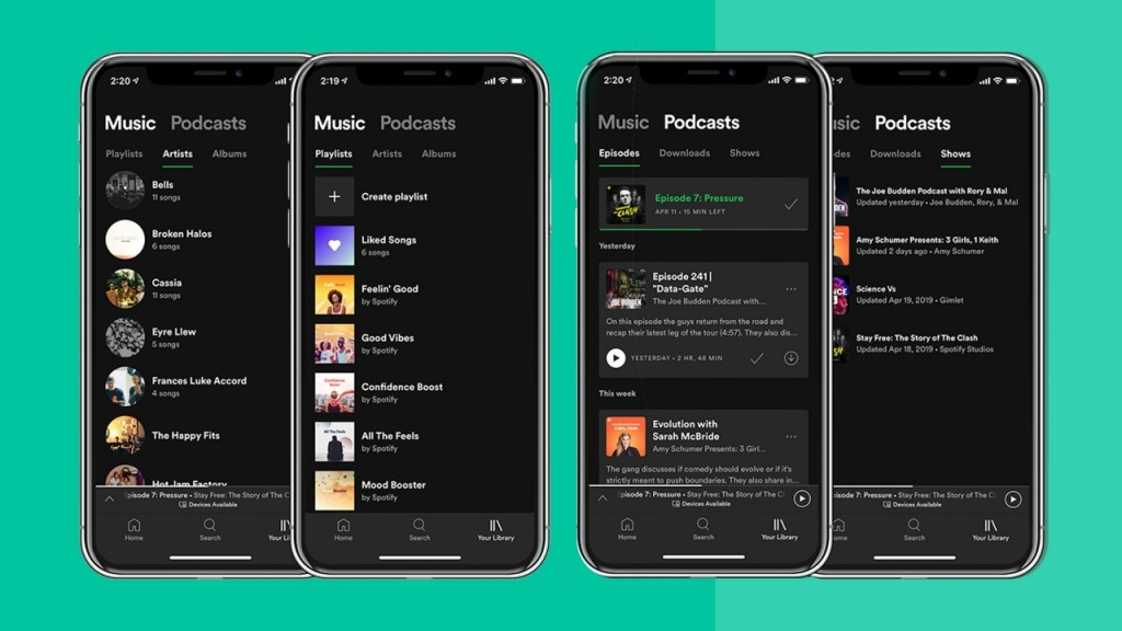 Spotify bet on podcasts and it's working