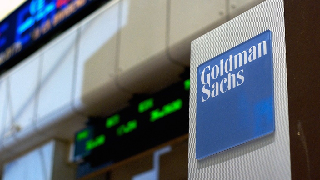 Goldman Sachs says US-China tariffs may have peaked