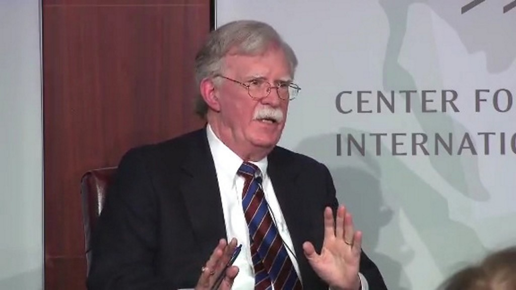Ousted Bolton disagrees sharply with Trump's North Korea strategy