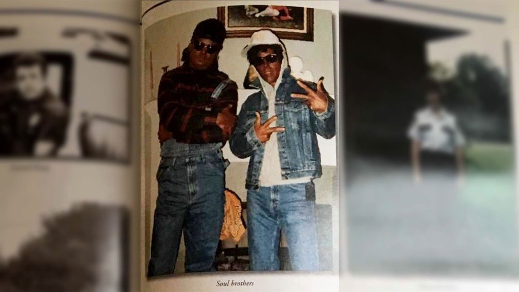 Yearbook photo shows Baton Rouge officers in blackface
