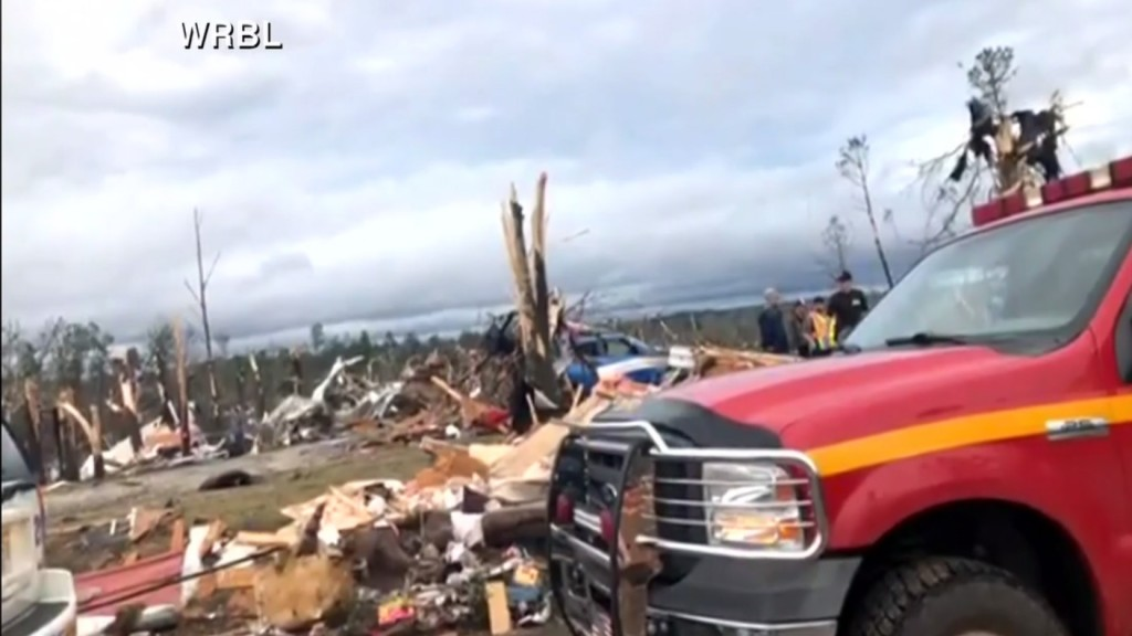 At least 23 dead after tornadoes touch down in Southeast