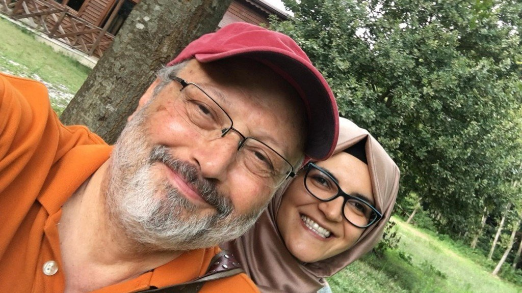 Khashoggi fiancée: Trump should 'not pave the way for a cover-up'