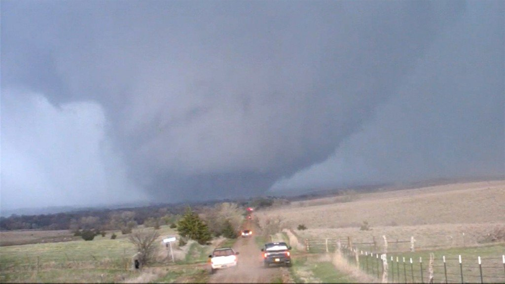 'Tornado drought' ends in the Plains
