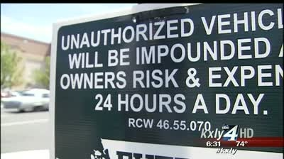 Aggressive towers targeting vacant Division St. businesses