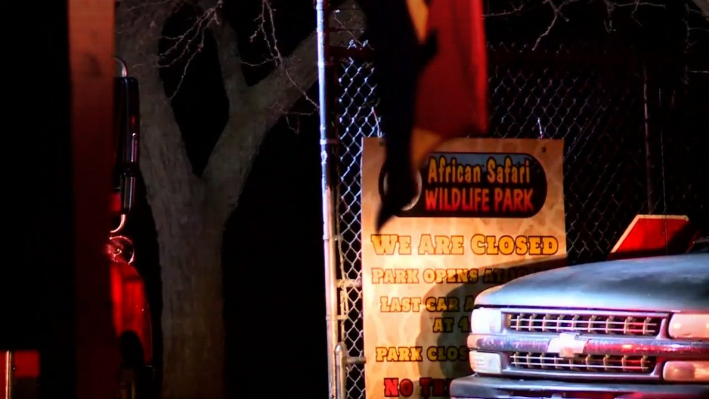 10 animals killed in fire at Ohio wildlife park