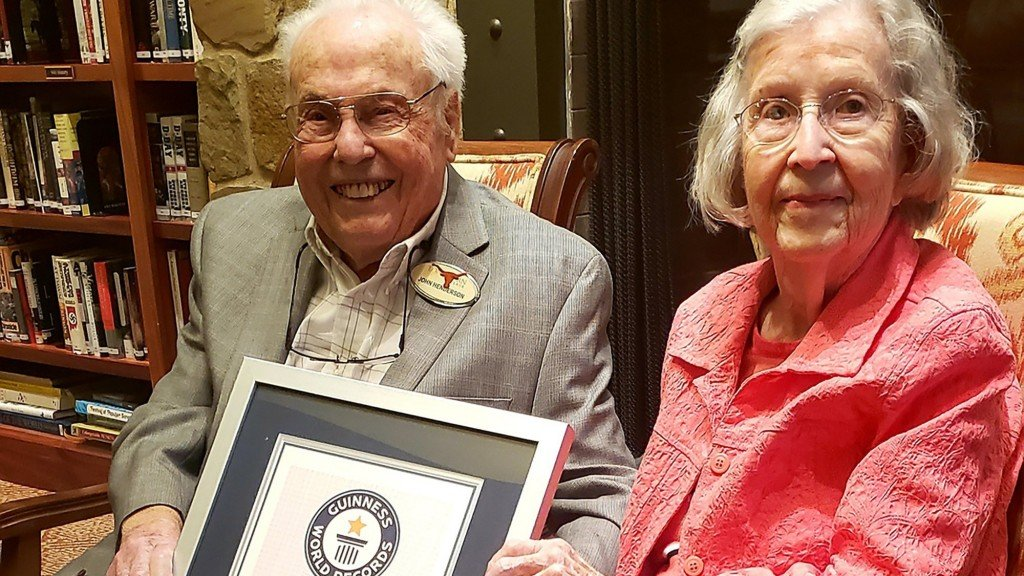Texas husband, wife are officially oldest living couple in the world