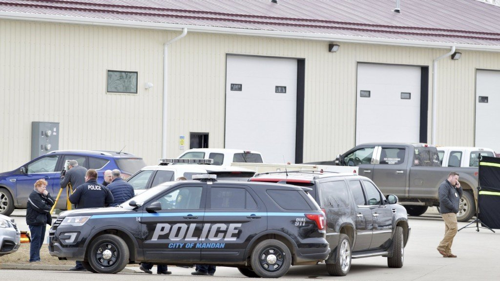 4 bodies discovered in North Dakota office building