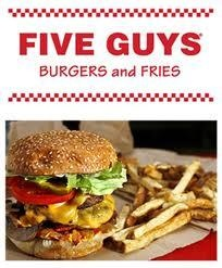 Five Guys to Open in North Spokane