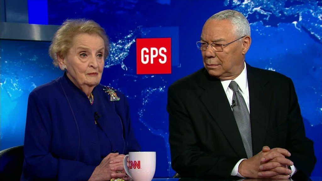 Former Secretaries of State Albright, Powell blast Trump on Russia, family separations