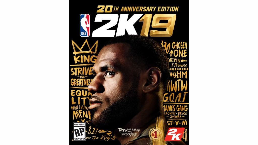 LeBron James to appear on NBA 2K19 cover