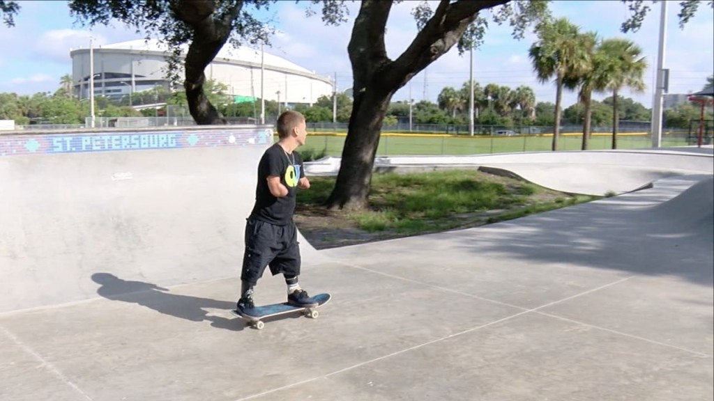 Triple amputee skateboarding star to appear at X Games