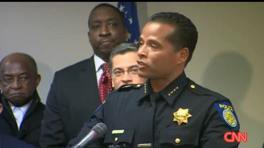 Sacramento's police chief faces a test after his officers kill an unarmed, black father
