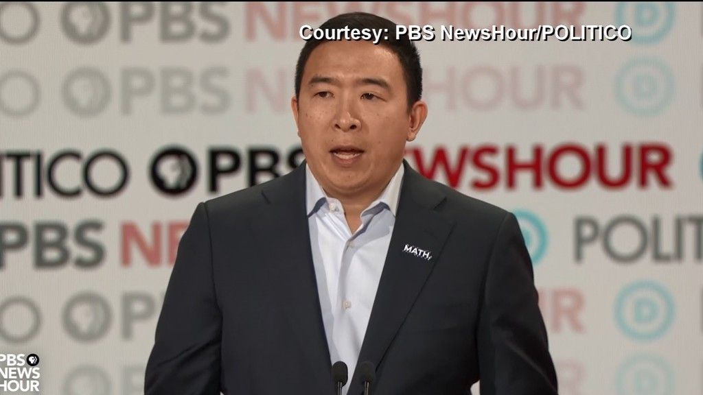 Yang: It's 'an honor anddisappointment' to be candidate of color
