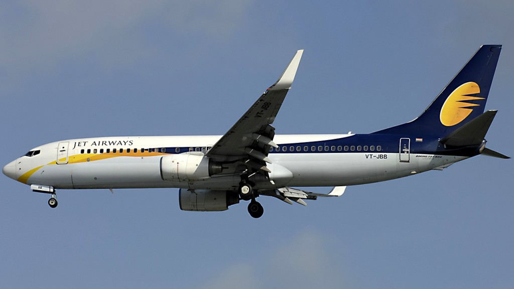 Jet Airways plane turns back over passenger nose, ear bleeds