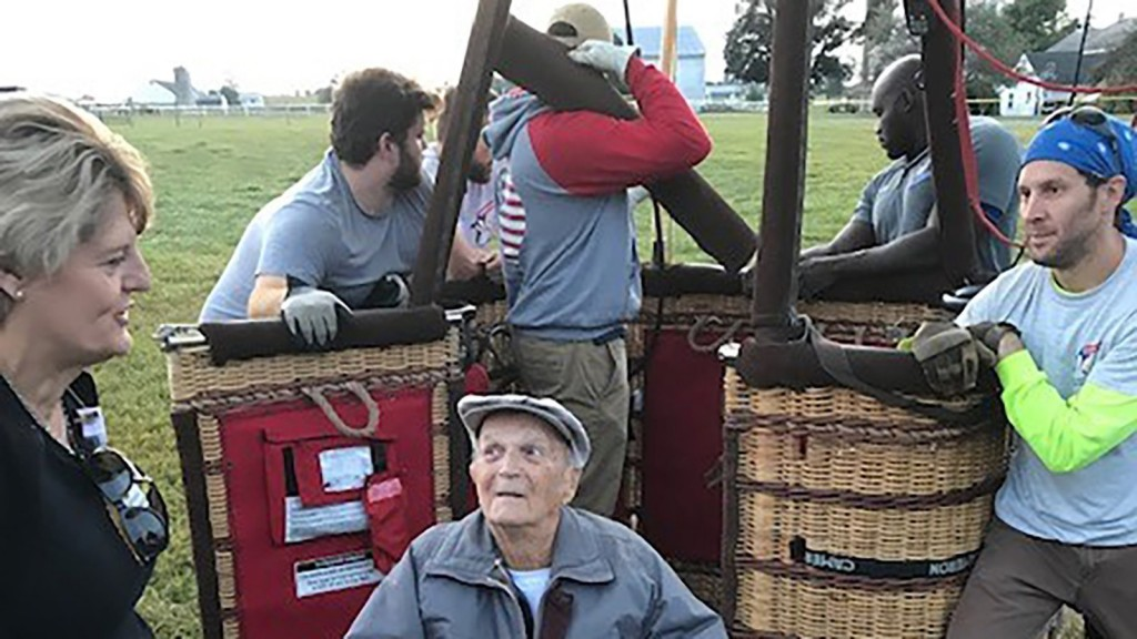 Here's how one 102-year-old veteran fulfilled a lifelong dream