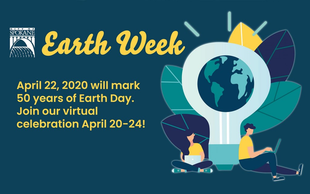 City of Spokane Earth Day webinar series