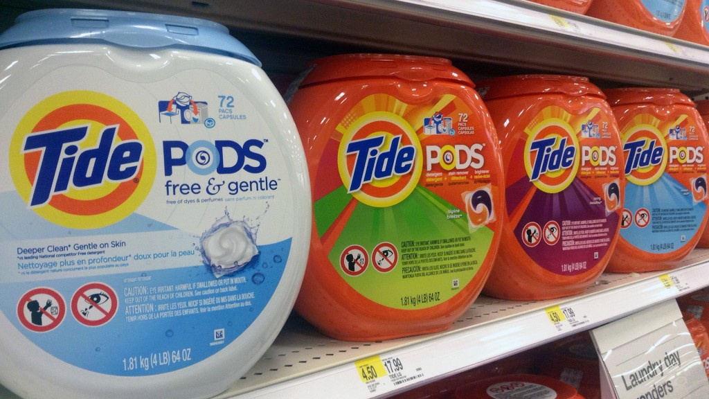 Poison control calls 'spike' due to online laundry pod challenge
