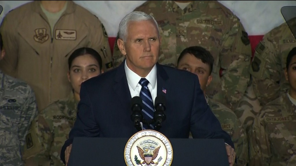 Pence: Immigration talks over until government reopens