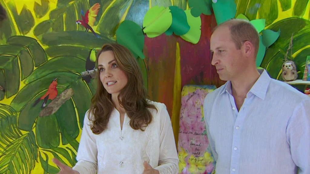 Duchess of Cambridge gives first ever TV news interview
